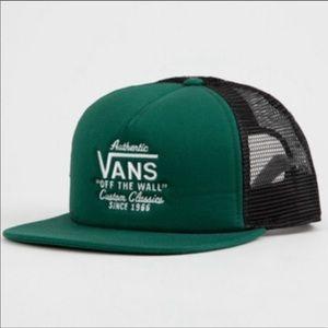 New Vans Galer Green trucker hat